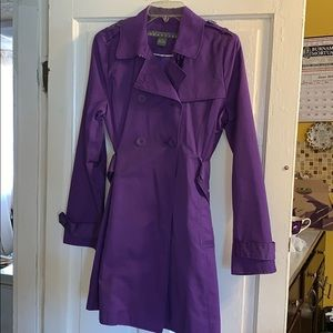 Kenneth Cole Reaction Trench Jacket